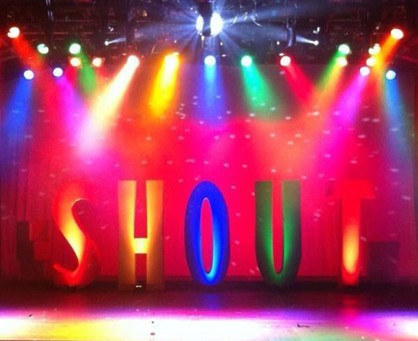shout stage